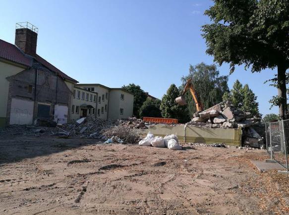 Aktuelle Baufortschritte zum Bau des Campus
